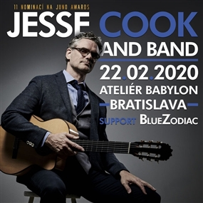 Jesse Cook Band + support: BlueZodiac
