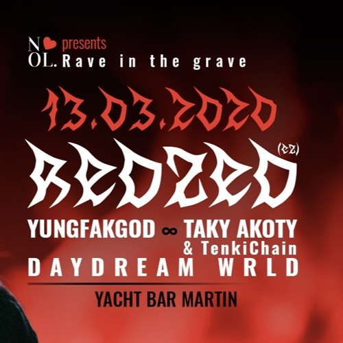 Rave in the Grave w/ Redzed